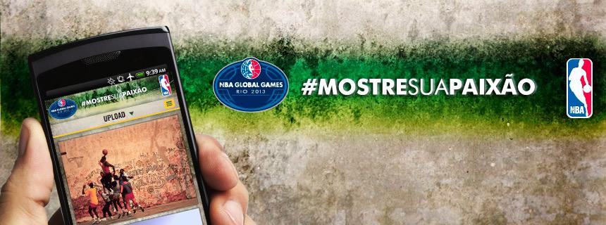 NBA, #MostreSuaPaixao Móvil
