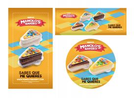 Manolo's Bakery - Piezas publicitarias