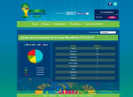 Quiniela Copa Mundial FIFA Brasil 2014 - Pronósticos