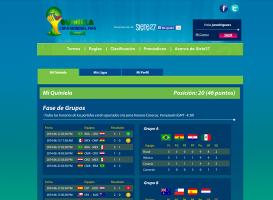Quiniela Copa Mundial FIFA Brasil 2014 - Quiniela