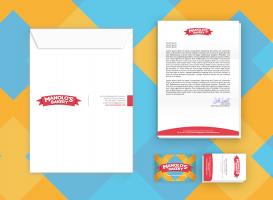 Manolo's Bakery - Papelería y Tarjetas de presentación